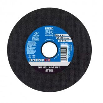 Disc abraziv pentru debitat otel Pferd 125x1 A 60 S SG